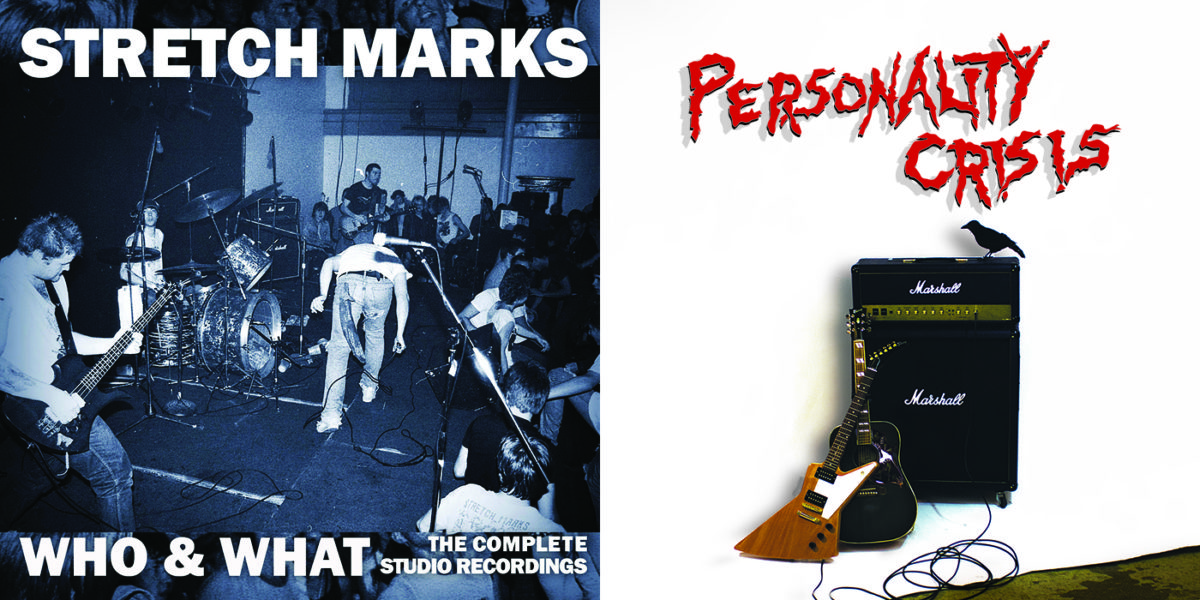 The Stretch Marks and Personality Crisis CDs Are Off To Press!!